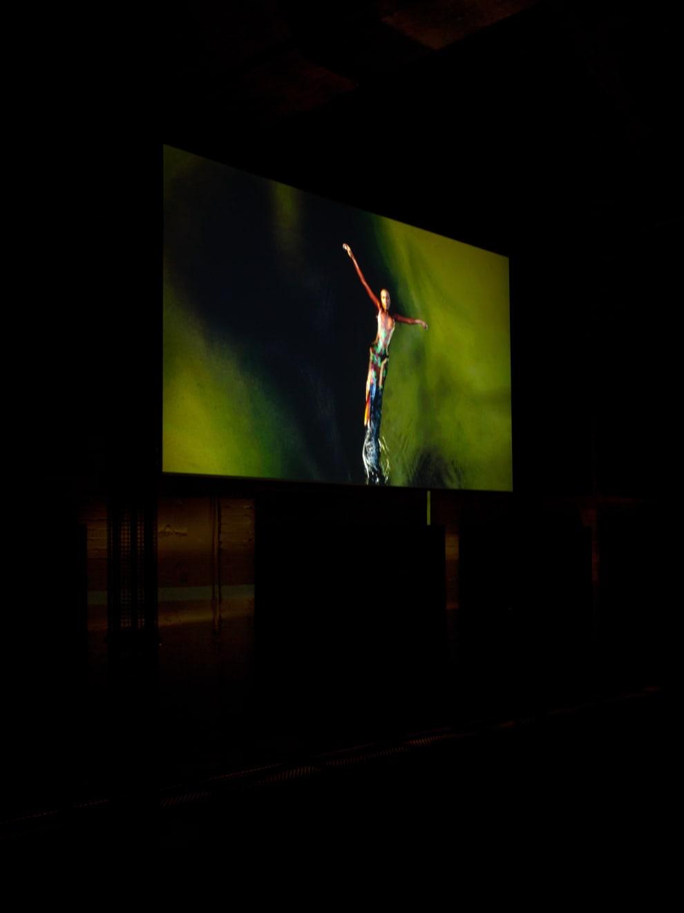 LIQUID THUNDER, Installation Berlin Monom Berlin, Oct 2019.