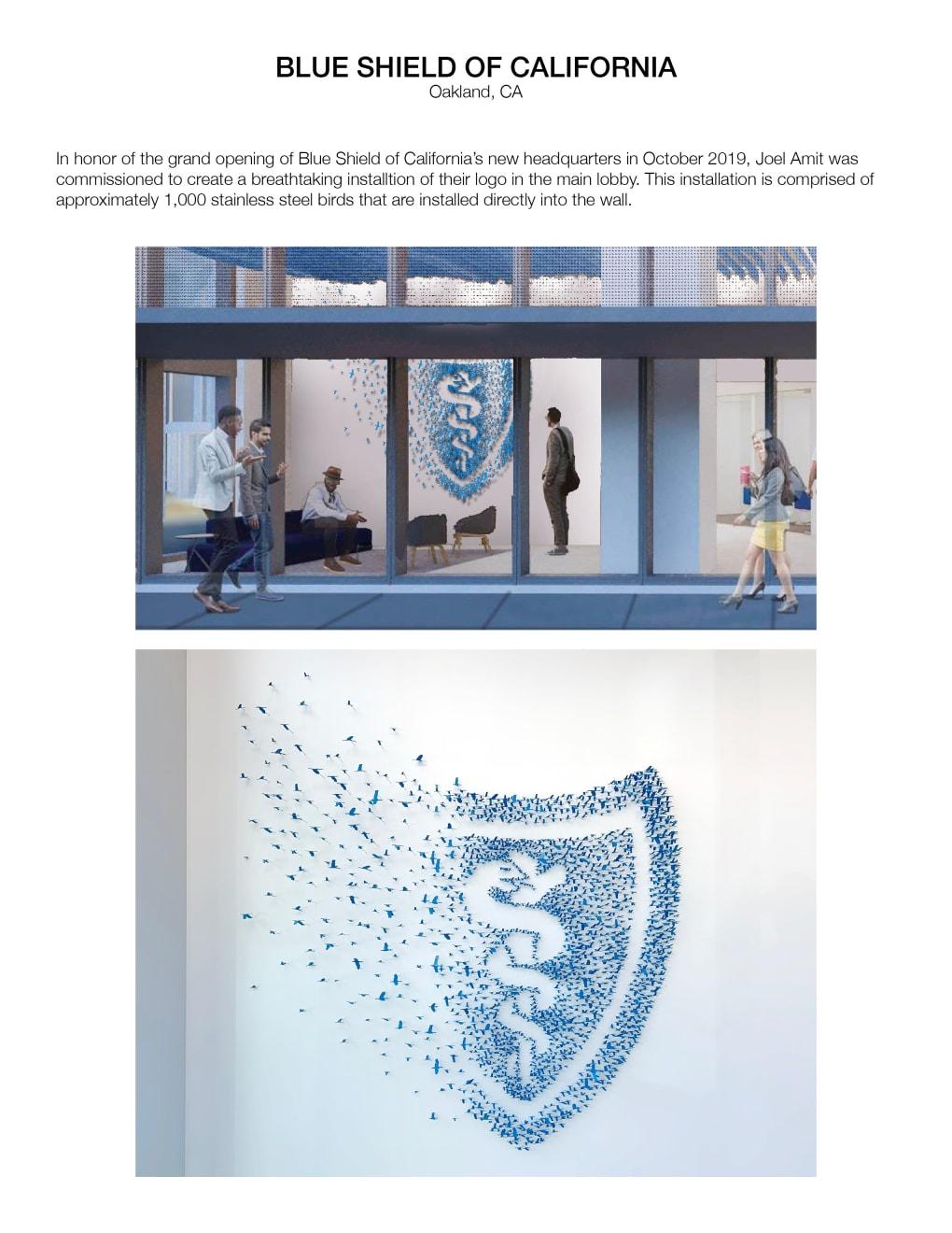 Corporate Commission Blue Shield of California Oakland, Ca