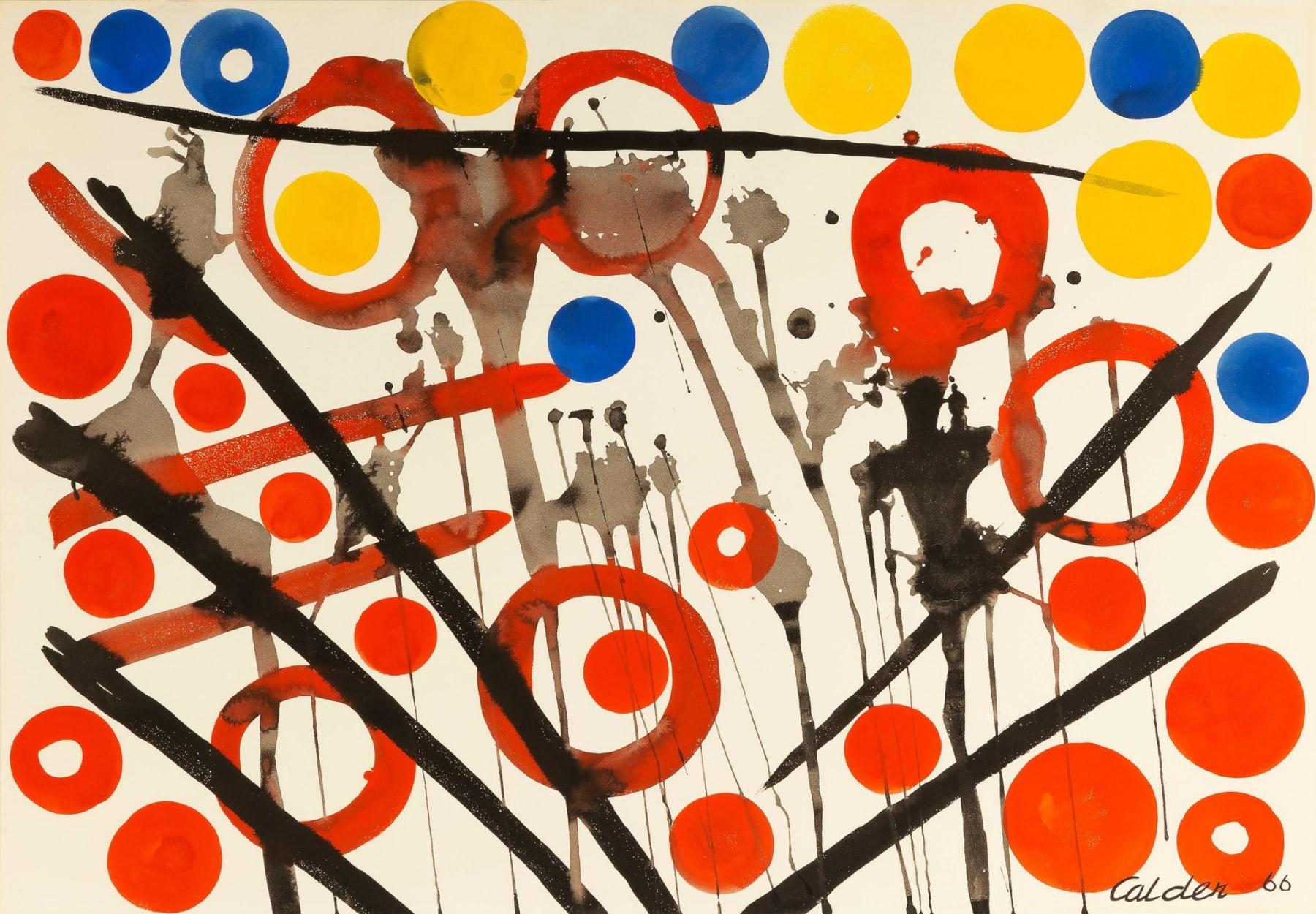 Alexander Calder, Loose Yolks, 1966