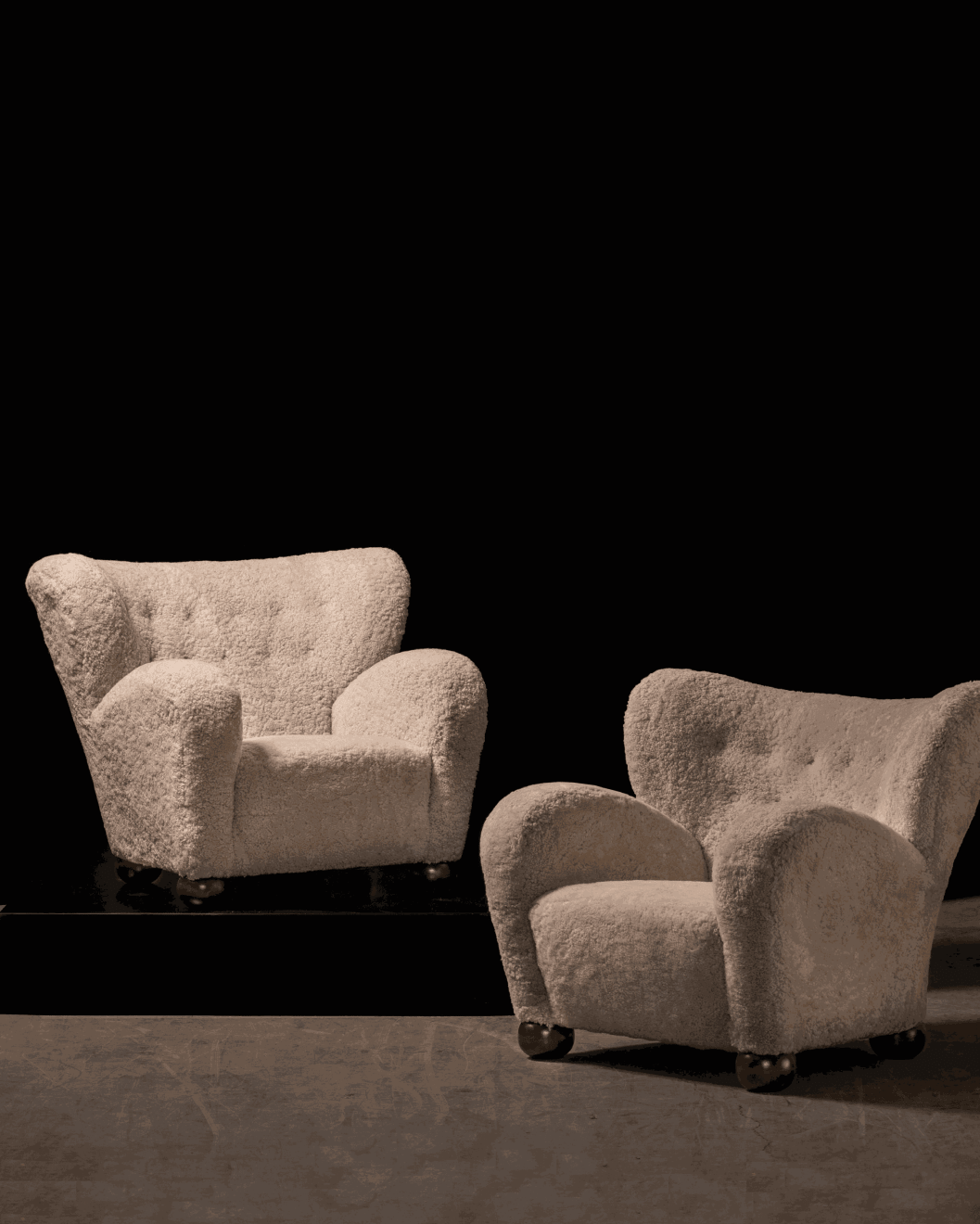 Marta Blomstedt, A Pair of Lounge Chairs, c. 1939