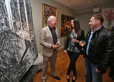 THE GERARD BYRNE STUDIO. OFFICIAL OPENING BY LOUIS WALSH