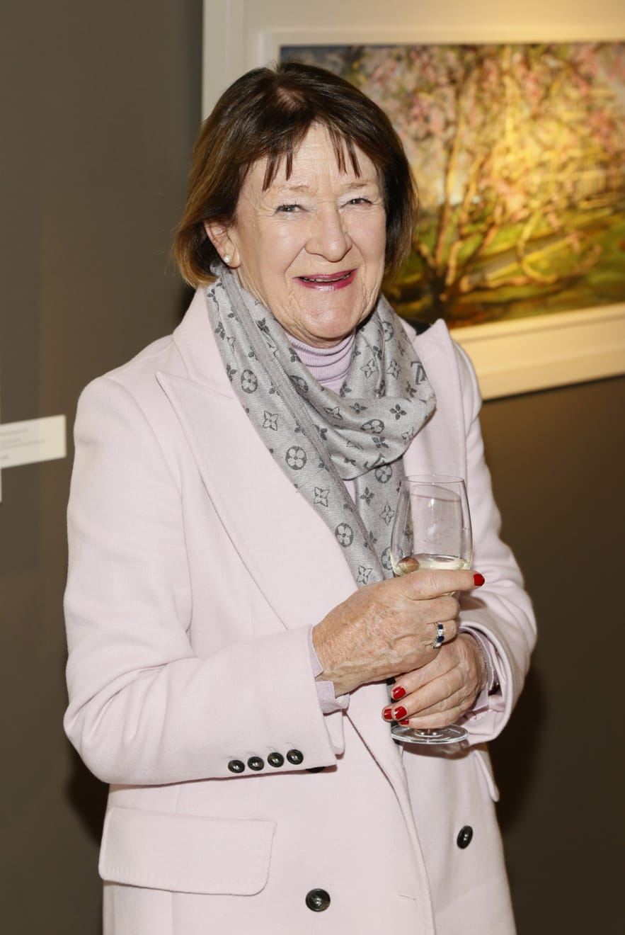 Roisin MacSullivan at the opening of the 'Botanical Fusion. Singapore to Dublin' Exhibition