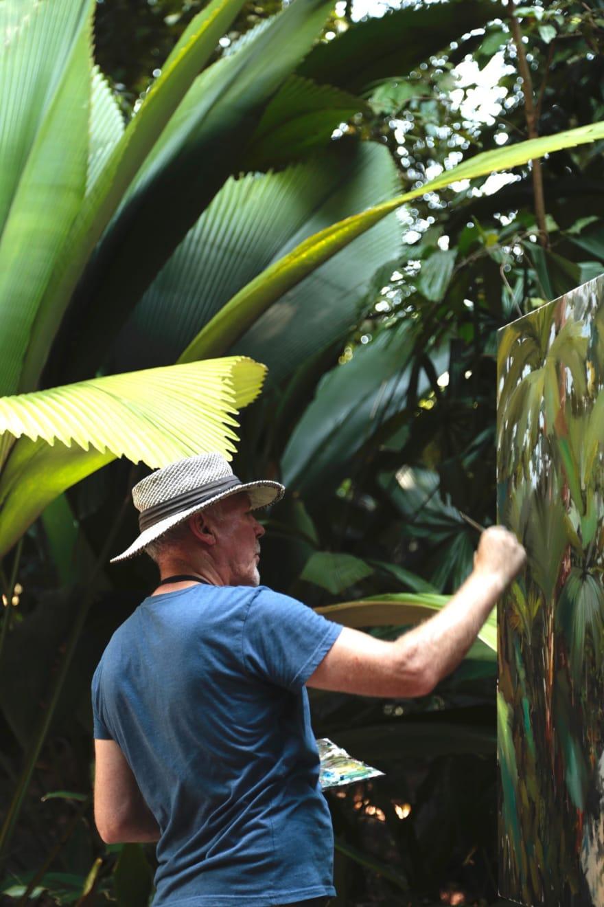 21 AUGUST 2019 MARANTA AVENUE, SINGAPORE BOTANIC GARDENS Jungle Vibes photo: Agata Byrne