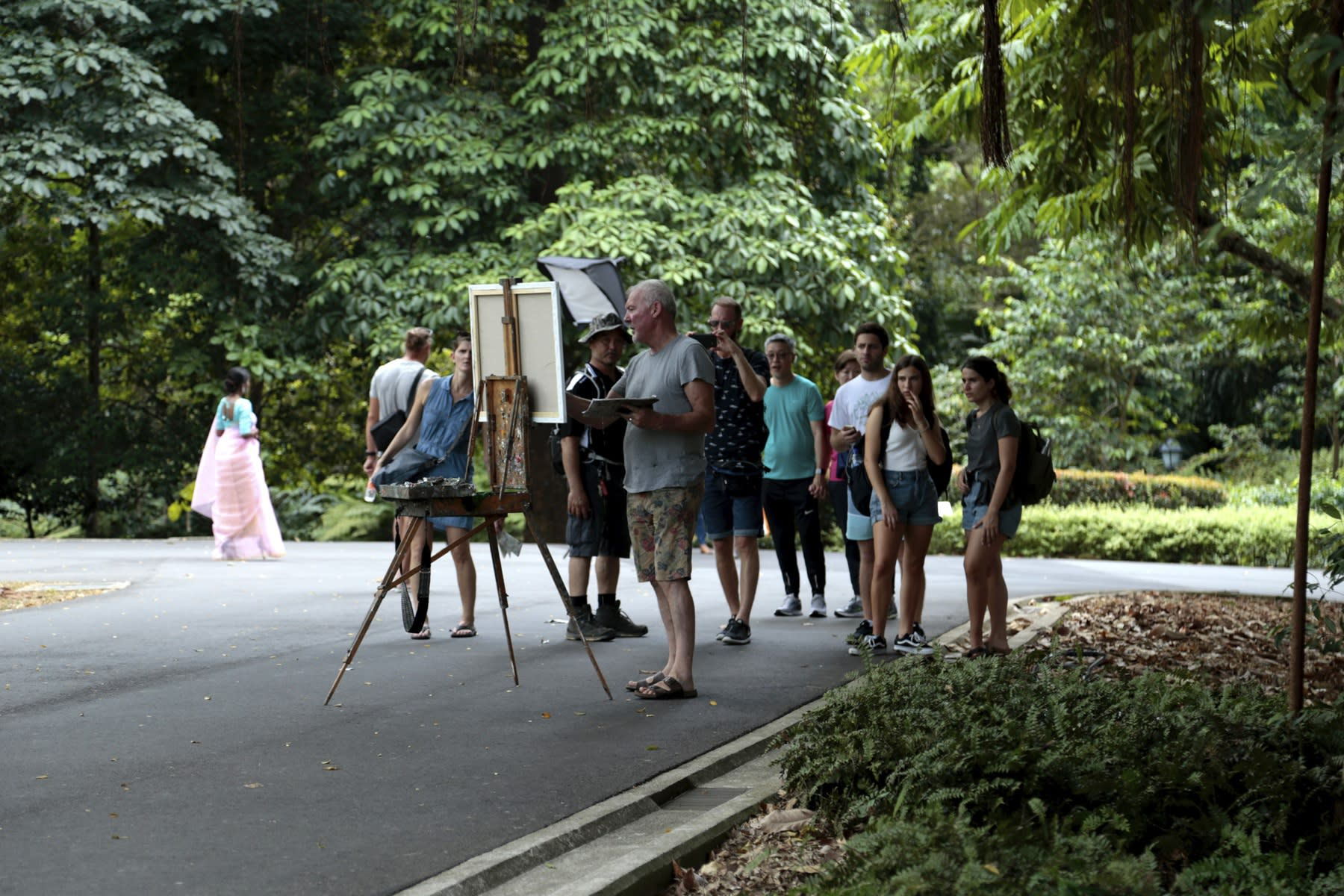 24 AUGUST 2019 UPPER RING ROAD, SINGAPORE BOTANIC GARDENS Weekend Vibes photo: Agata Byrne