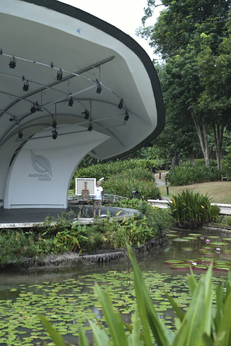 26 AUGUST 2019 SHAW FOUNDATION SYMPHONY STAGE, SINGAPORE BOTANIC GARDENS Blossoms for Breakfast photo: Agata Byrne