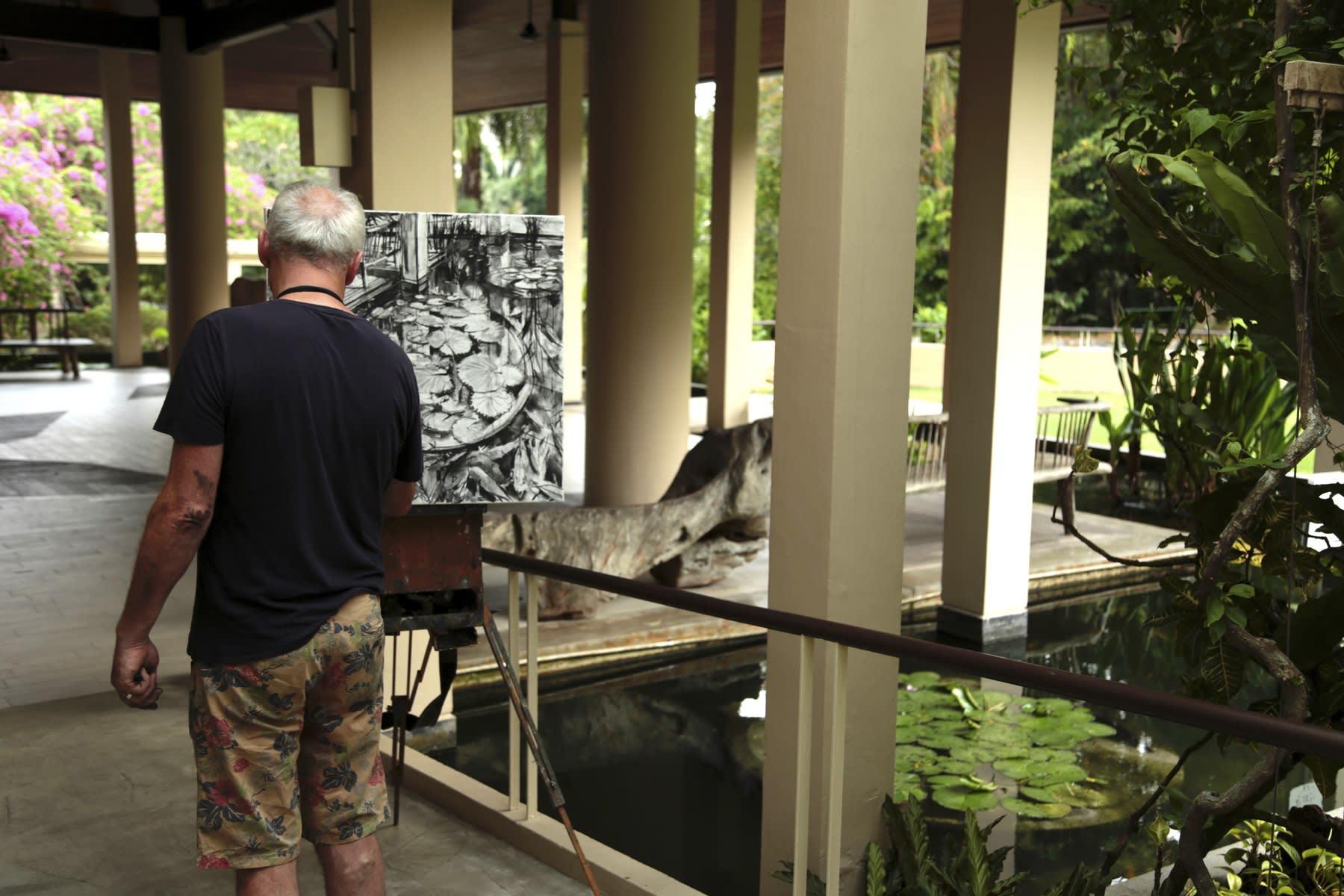 28 AUGUST 2019 GREEN PAVILION, SINGAPORE BOTANIC GARDENS Botanical Greens photo: Agata Byrne