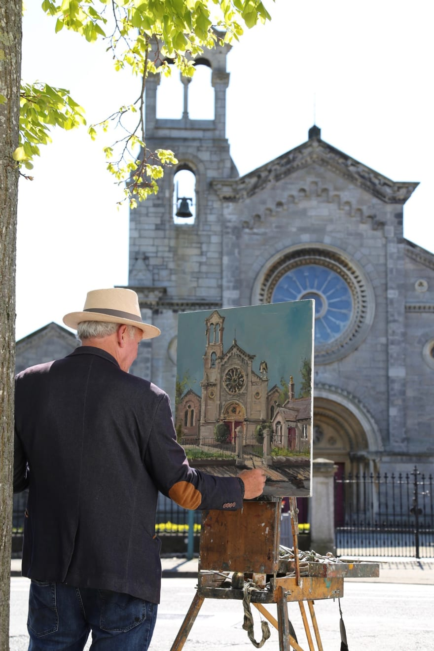 04 MAY 2020 MARLBOROUGH ROAD, RANELAGH, DUBLIN Sandford Church photo: Agata Byrne