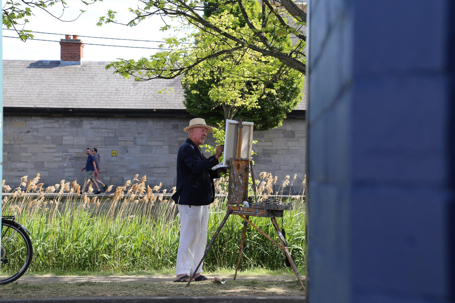 01 JUNE 2020 LOCKS RESTAURANT, WINDSOR TERRACE, DUBLIN The Door to the Unknown photo: Agata Byrne
