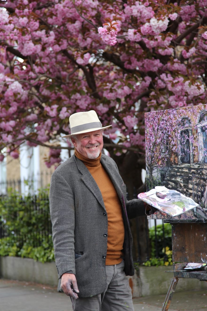 16 APRIL 2021 GRANTHAM STREET, DUBLIN Afternoon on Grantham Street photo: Agata Byrne