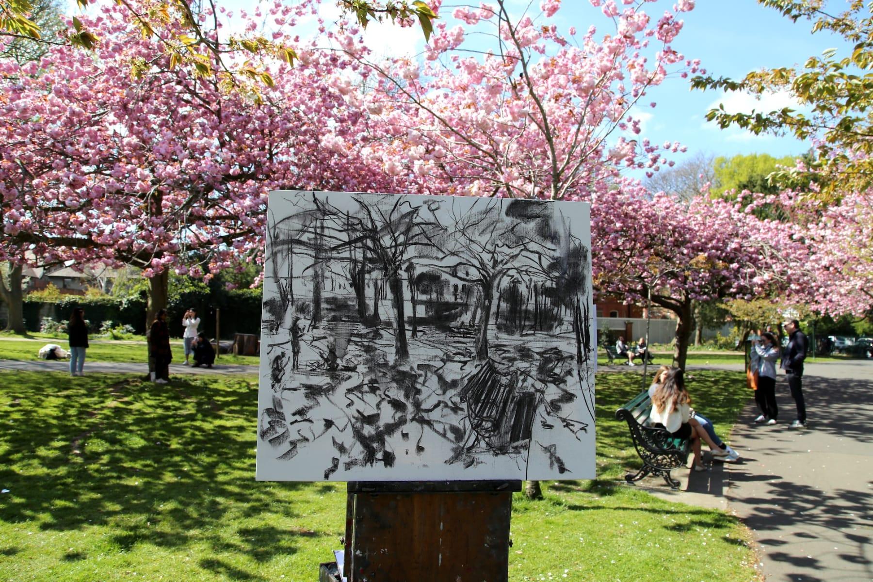 17 APRIL 2021 HERBERT PARK, DUBLIN Spring is Here! Herbert Park photo: Agata Byrne