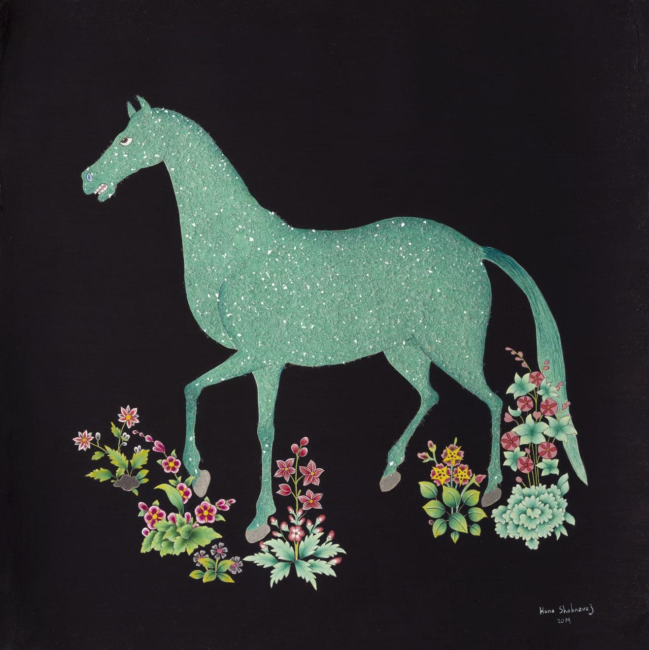 Hana Shahnavaz, Earth Horse , 2019
