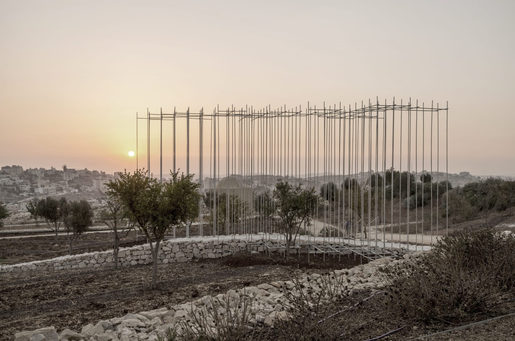 Threshold, 2017 The Palestinian Museum, Birzeit Collaboration with Eric Chen, Curated by Reem Fadda. Images courtesy of Rain Wu