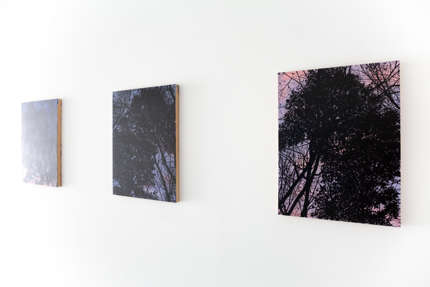 Rebecca Partridge, On a Clear Day, Informality, installation view 2021. Image courtesy of Informality.