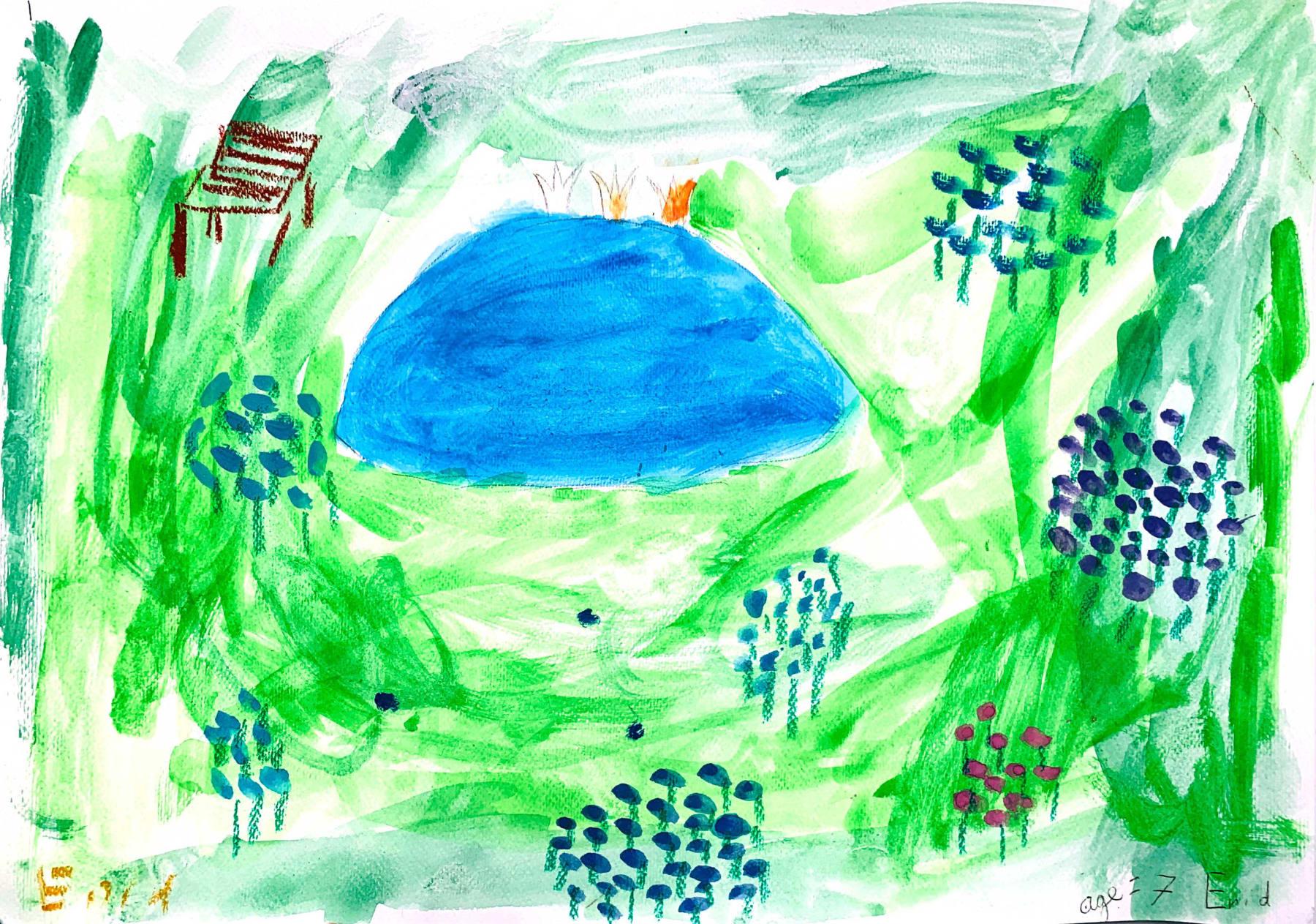 Enid Newland, Age 7, Untitled