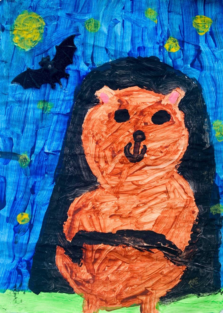 Hazel Jackson, Age 7, Untitled