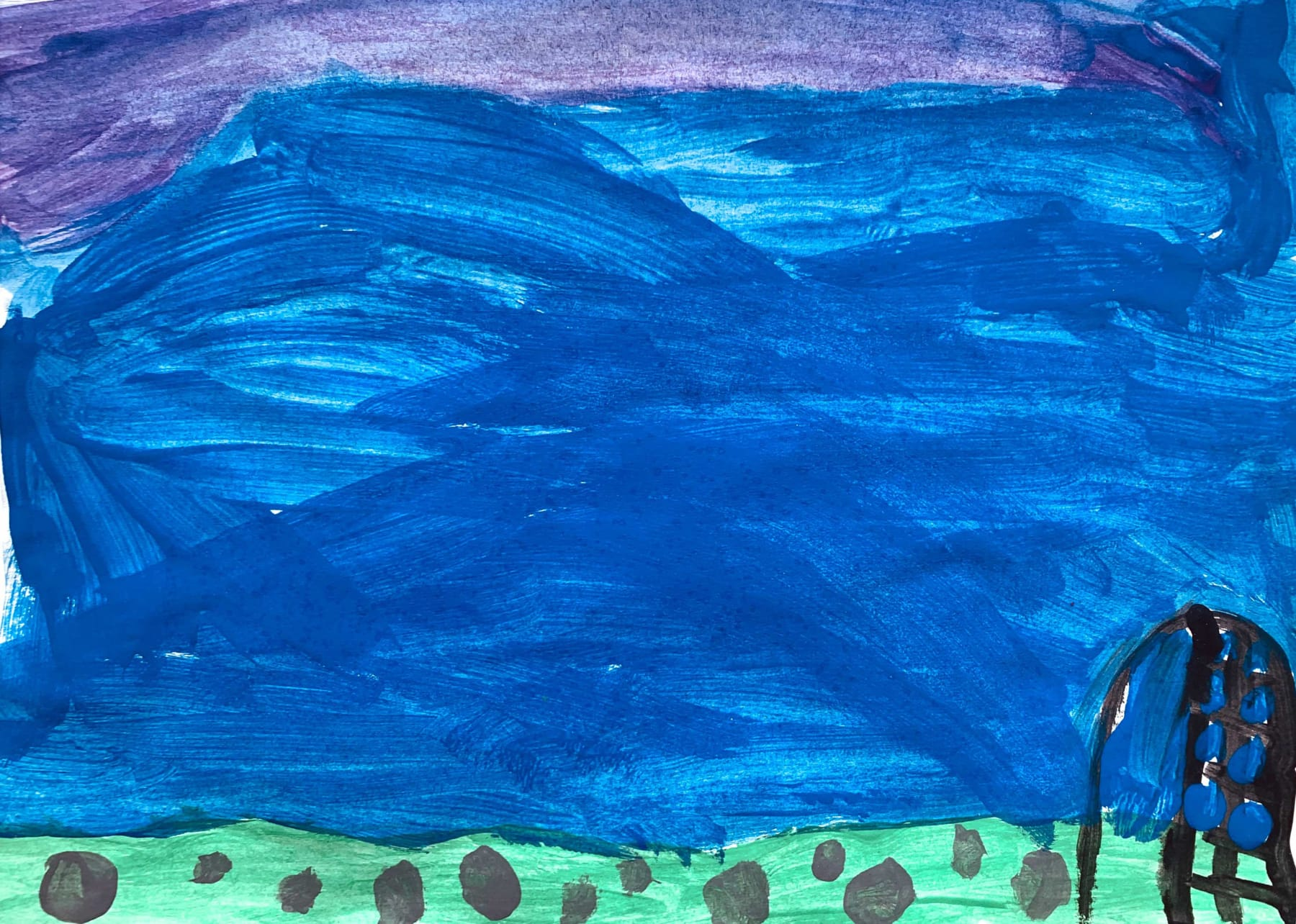 Korah, Age 7, Untitled