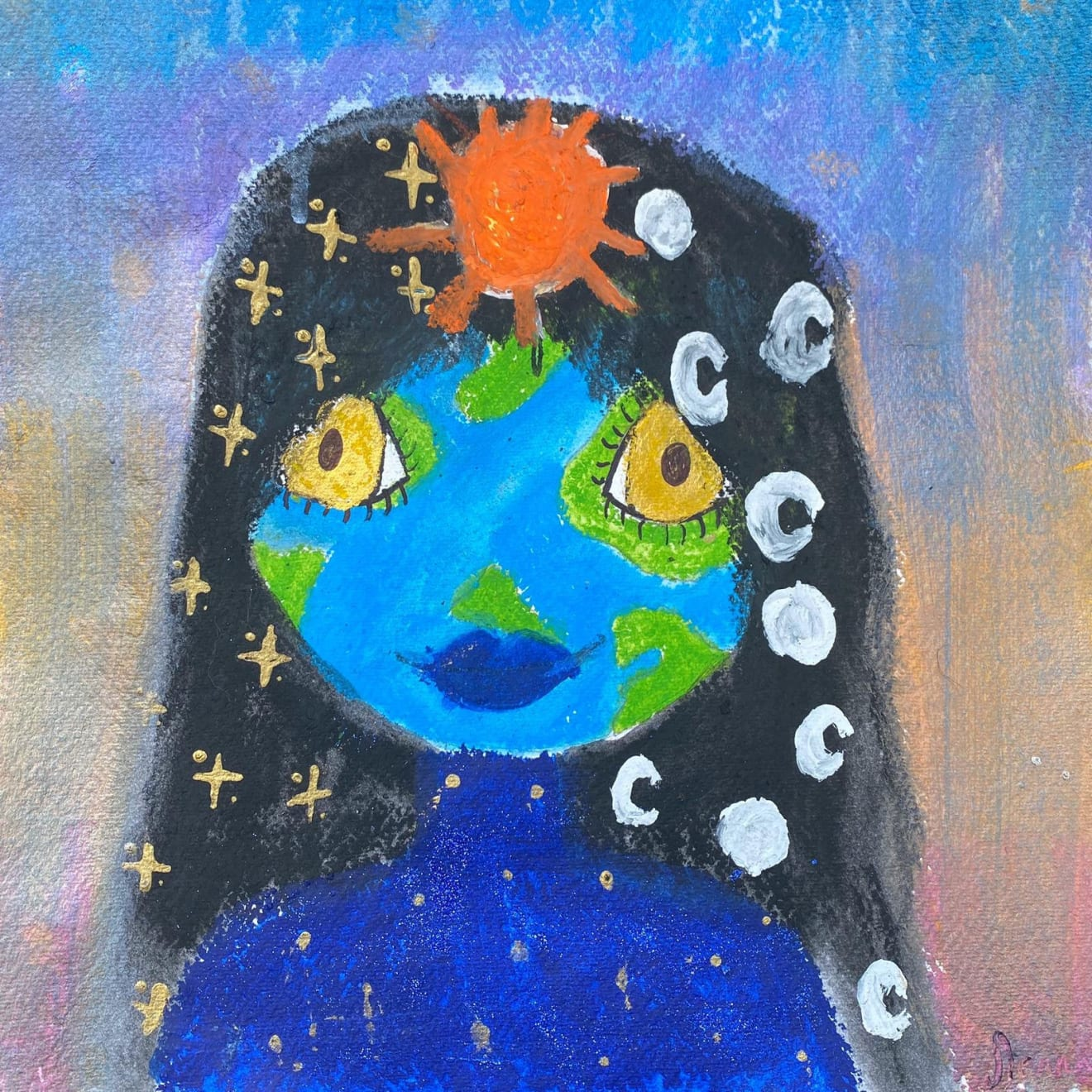 Sienna, Age 10, Mother Earth