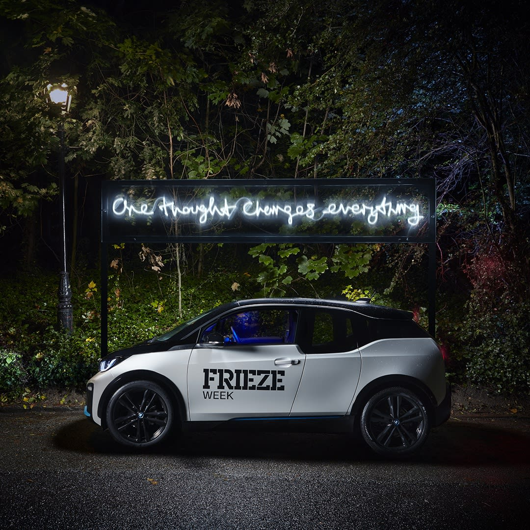 Frieze & BMW, 2020 'One Thought Changes Everything'