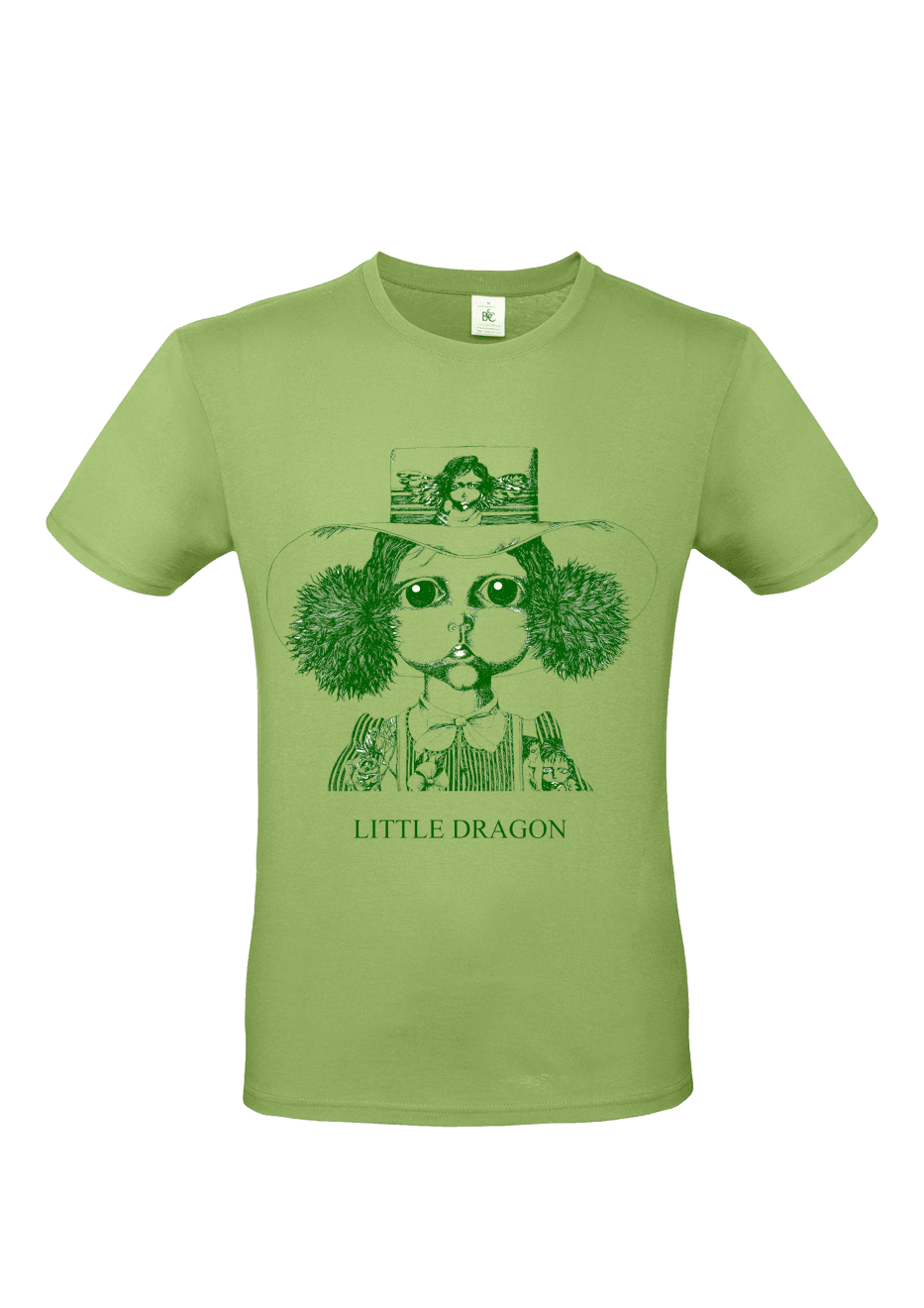 Head T-shirt Green