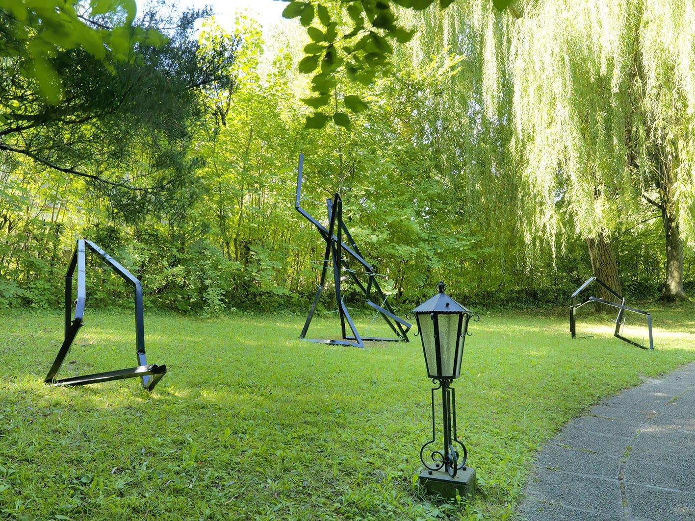 Sculpture Garden, Installation view: Clemens Hollerer, 2019 Photo: © FARBPRAXIS