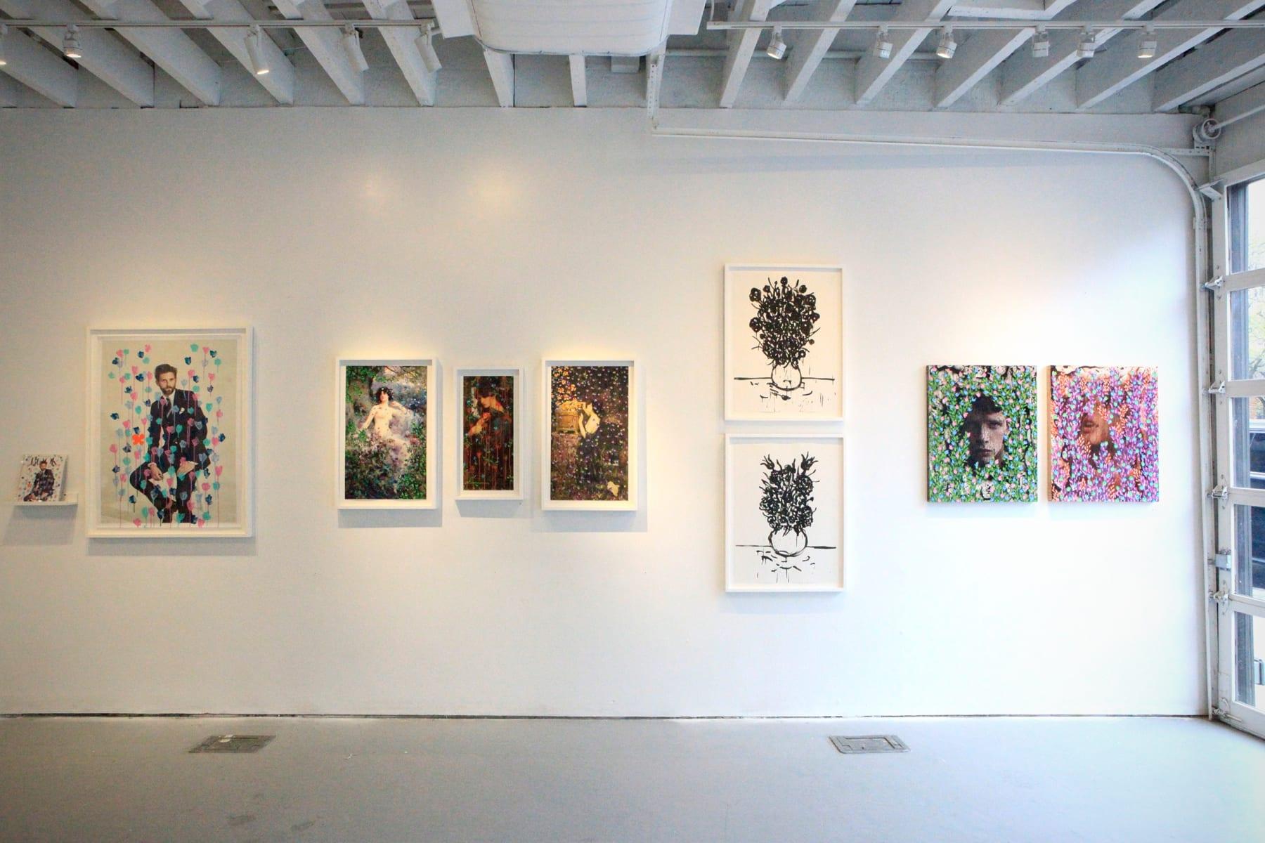 Michael De Feo Flowers Pop-Up 198 Allen Street, New York, New York Installation view.