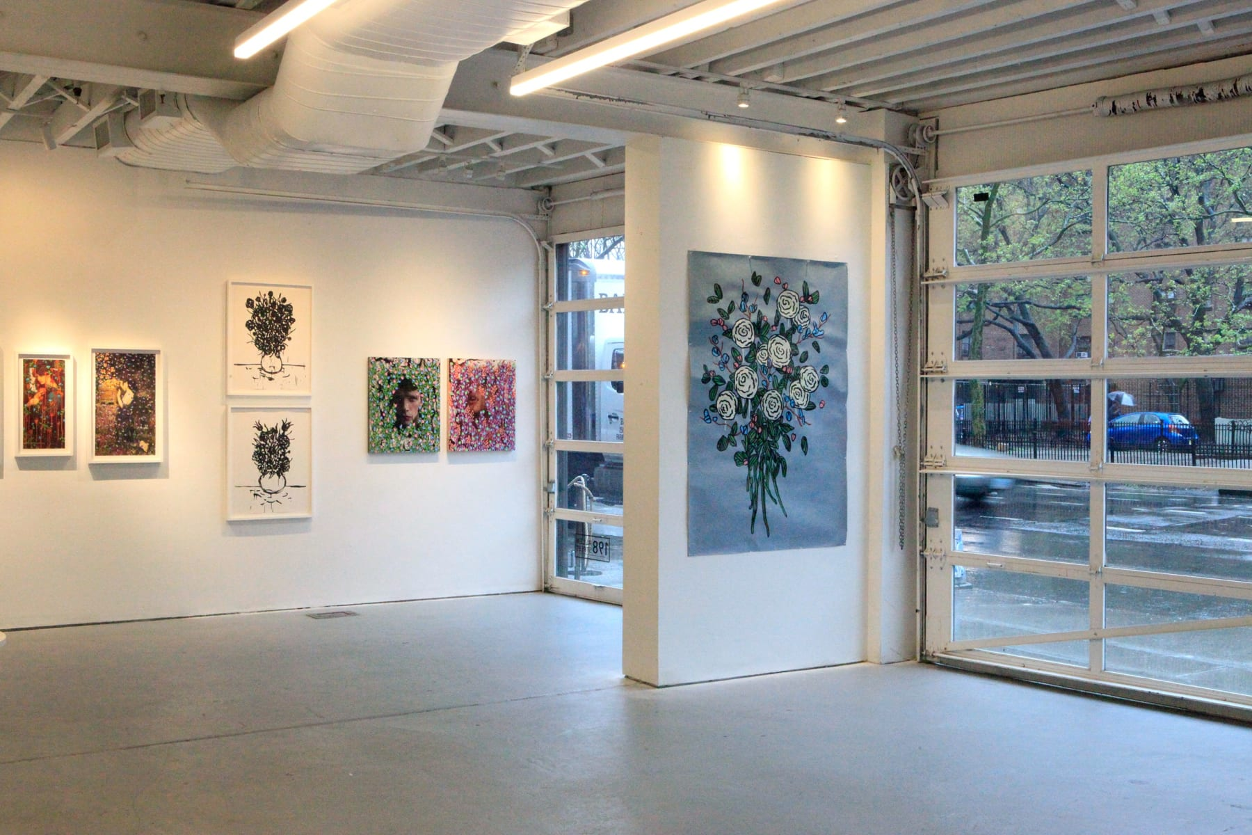 Michael De Feo Flowers Pop-Up 198 Allen Street, New York, New York Installation view.