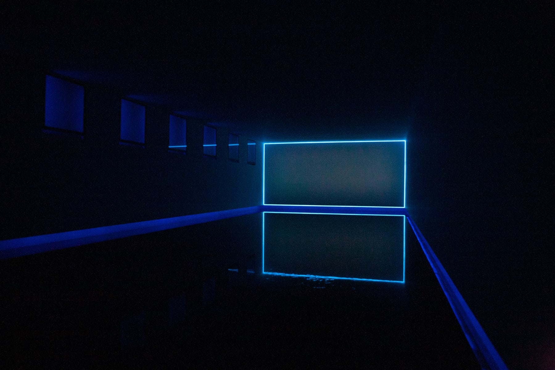 James Turrell / Baker Pool, Greenwich, Connecticut