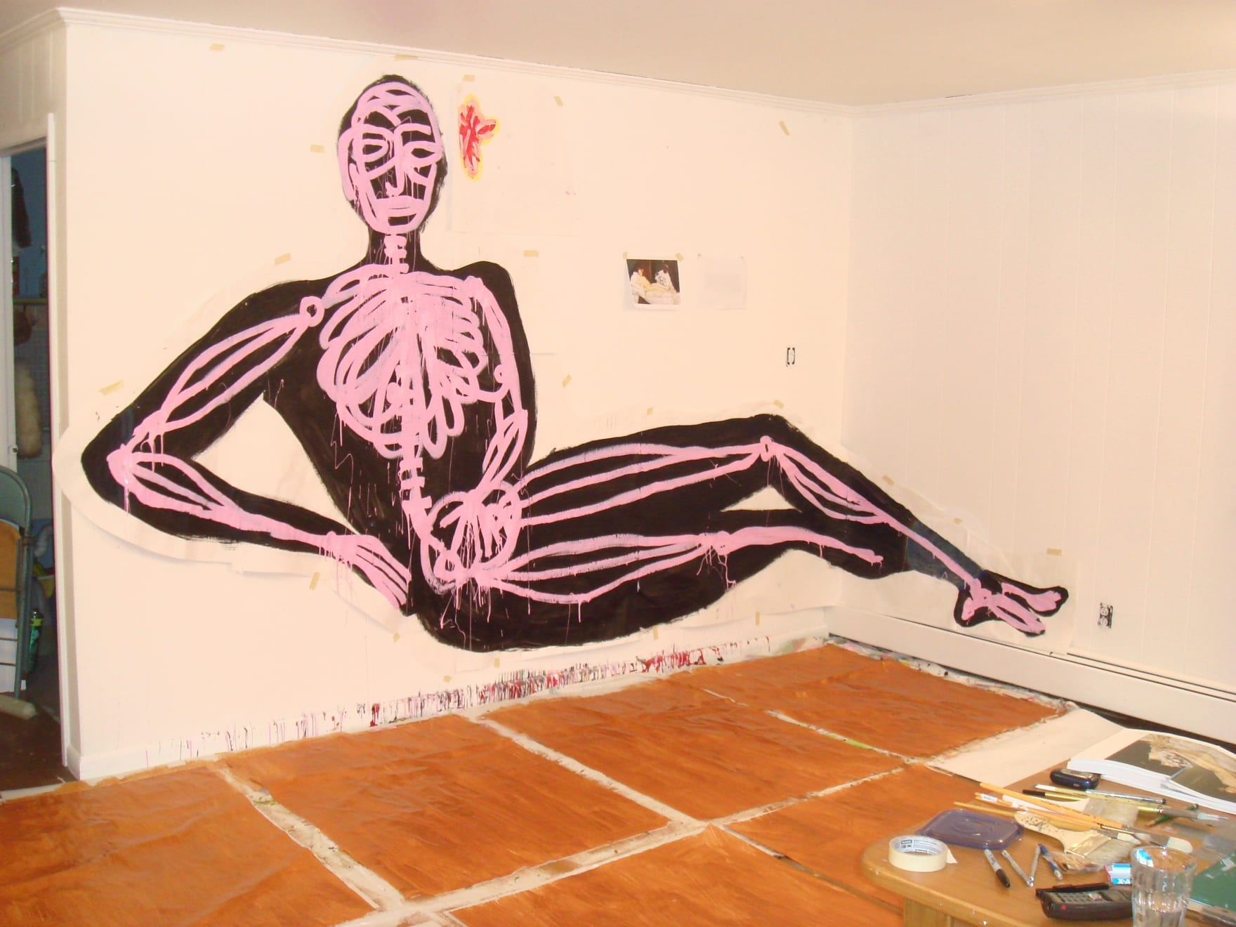 Olympia In progress at Westchester studio. 2007