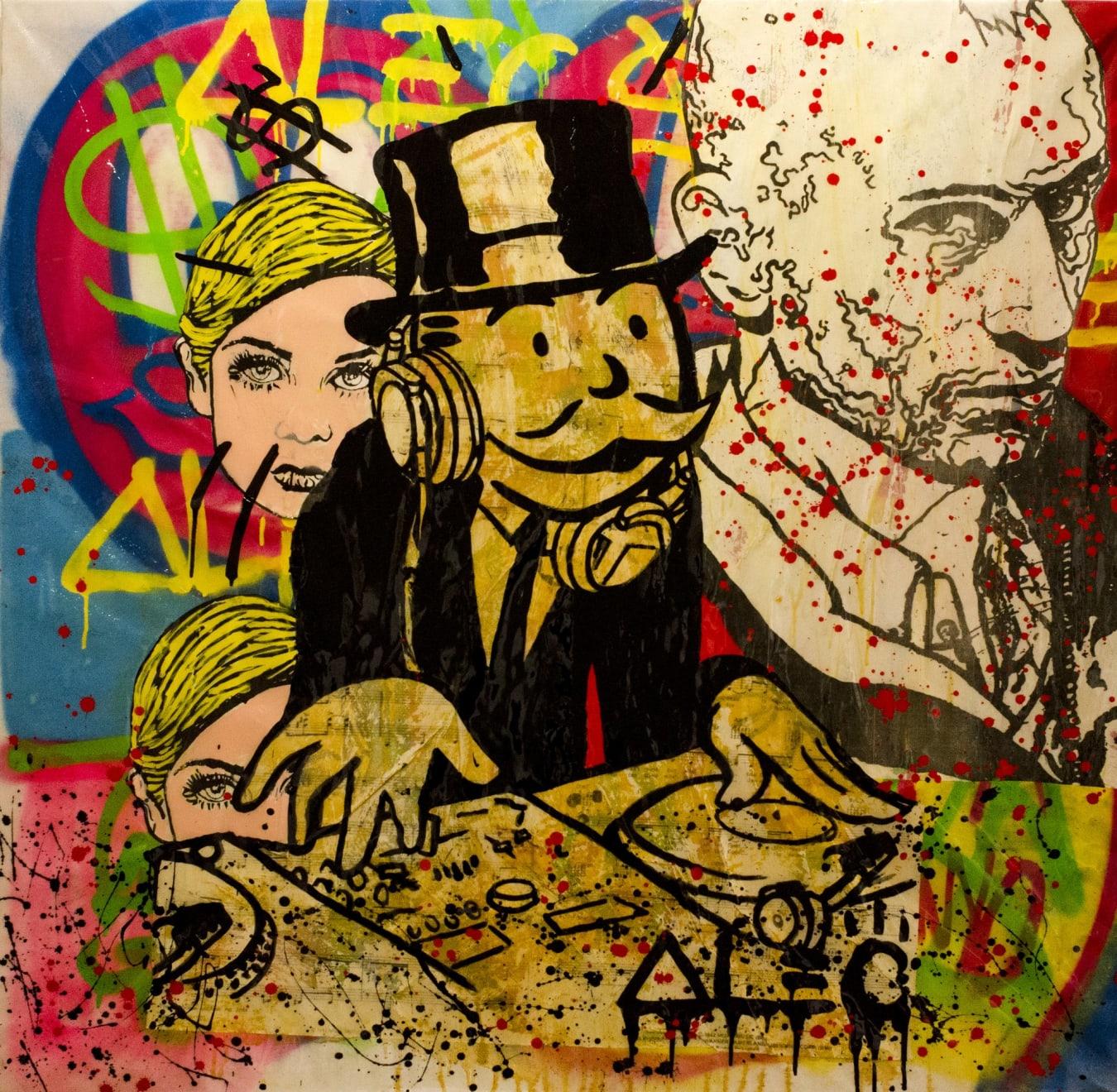 Alec Monopoly Monopoly DJ - Bob & Twiggy, 2013