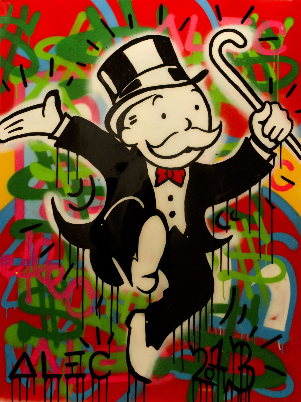 Alec Monopoly $$$ Joy, 2013