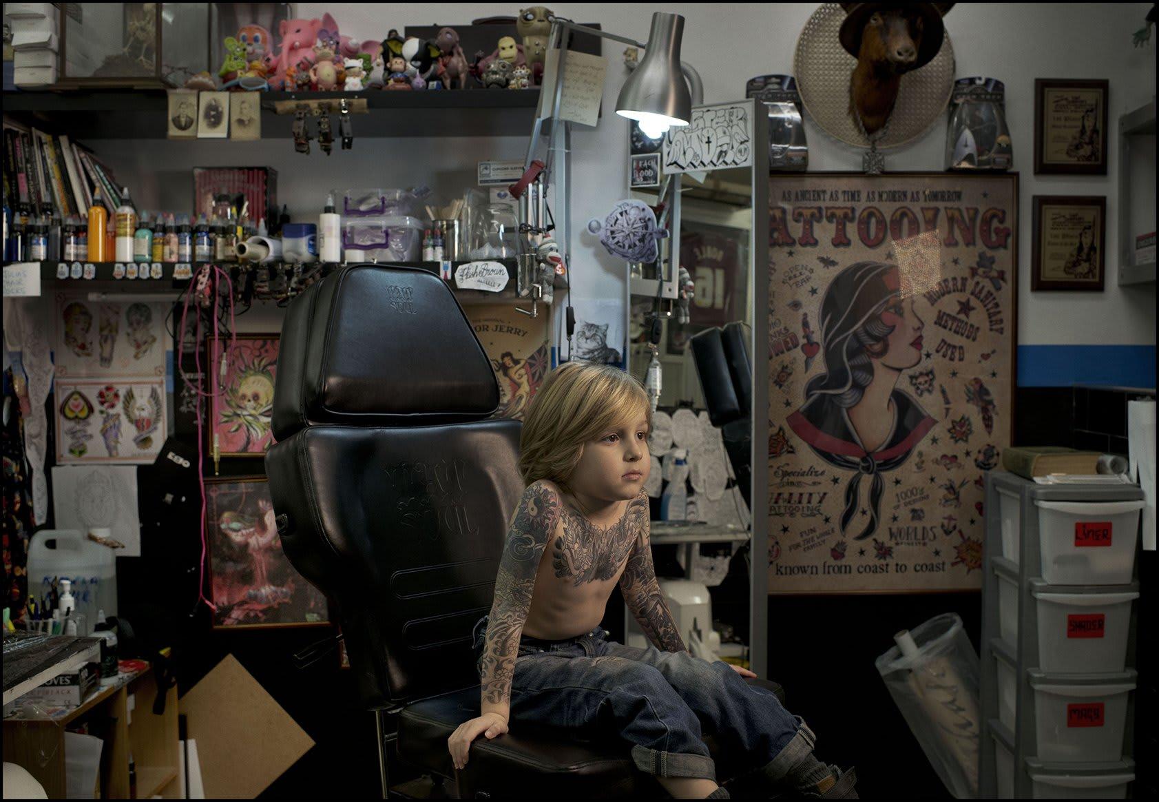 Rich Hardcastle Like Father…. (Starring Cooper Hardcastle), 2013