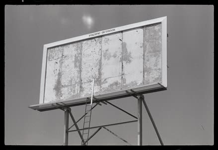 Dennis Hopper Billboard, Los Angeles, 1964