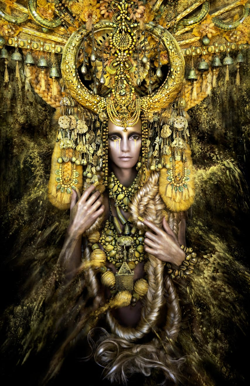 Kirsty Mitchell Gaia, The Birth Of An End, 2013