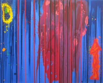 John Hoyland Follow Your Bliss, 2000