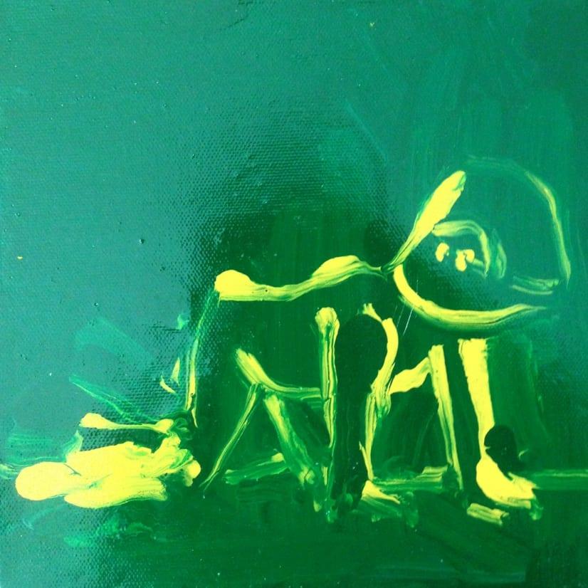 Enzo Marra Franco B (green and yellow), 2015