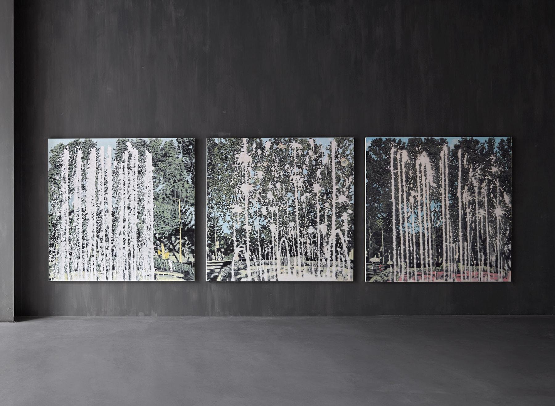 Yoo Guen-Taek, Fountain Series, 2009
