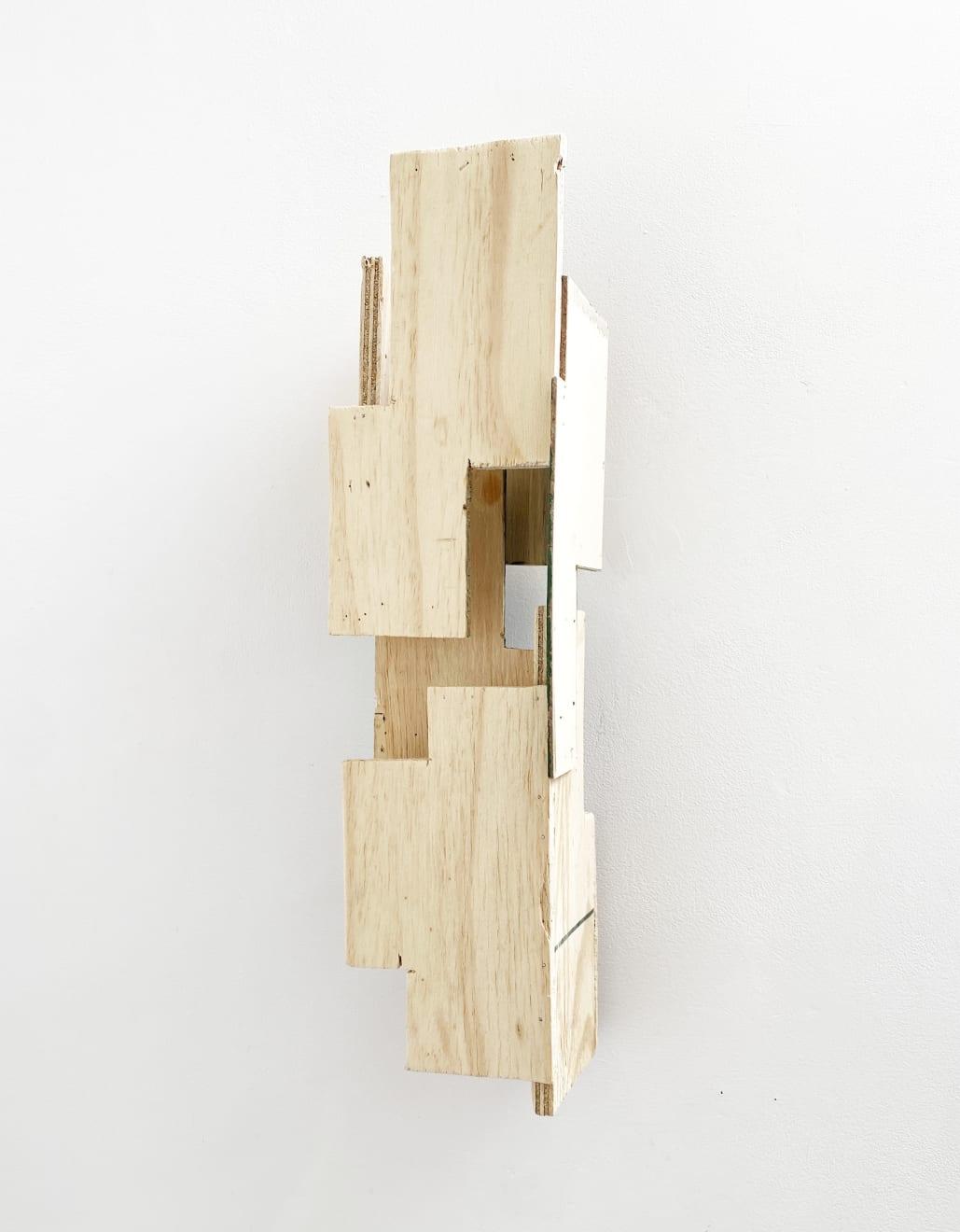 Sign 1, Assemblage, H.50cm, Reclaimed wood, Jane Morter