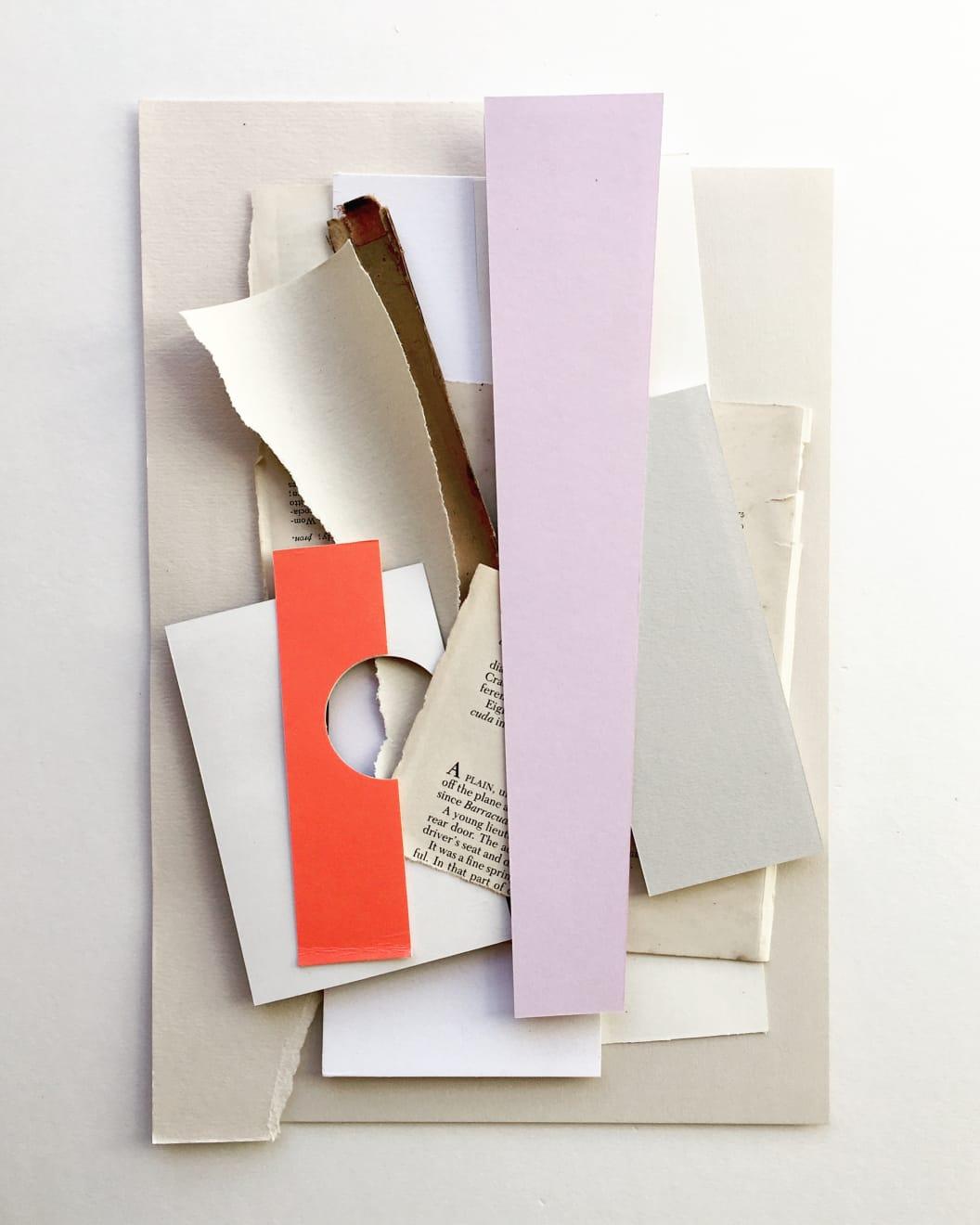 Unfolding III, Paper Collage, 52 x 42cm, £600, Sophie Klerk