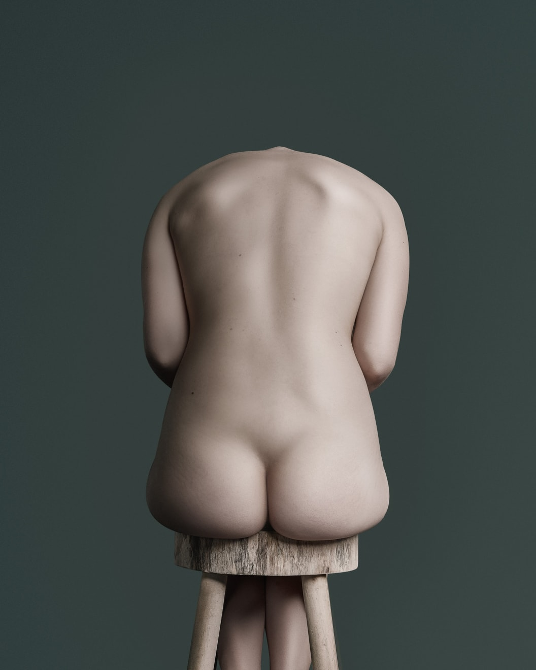14 June 2018 Back Buttocks Stool Bronze Award PX3 Prix de la Photographie Paris, France