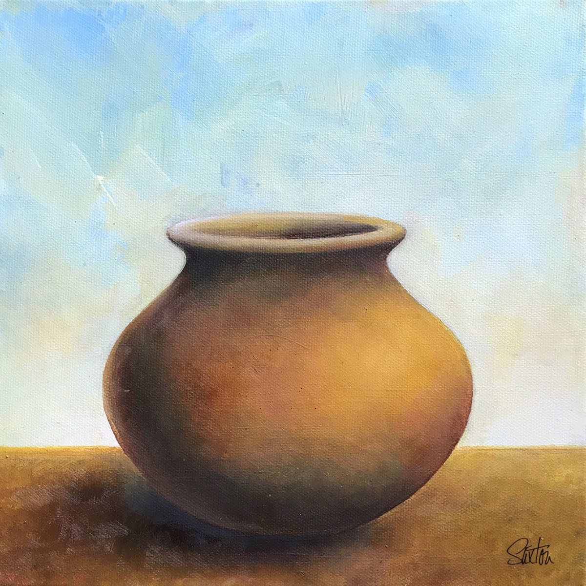 Gold Pot / Patricia Saxton