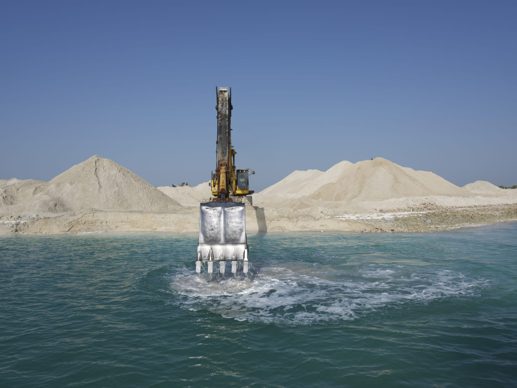 Tarek Al-Ghoussein, Abu Dhabi Archipelago (Island Making 2), 2015-, Digital Print, 60 x 80cm, Edition of 6 + 1AP USD 8,000 (Excluding VAT)