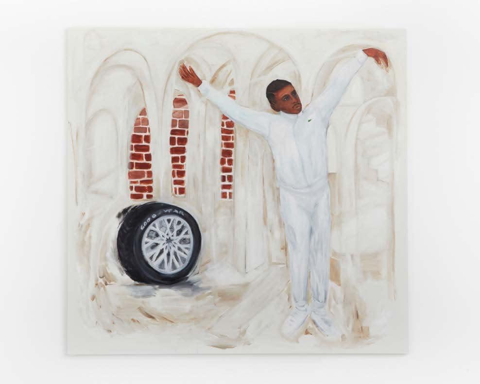 Anuar Khalifi, THE OPENING, 2020, Acrylic on canvas, 210 x 200cm