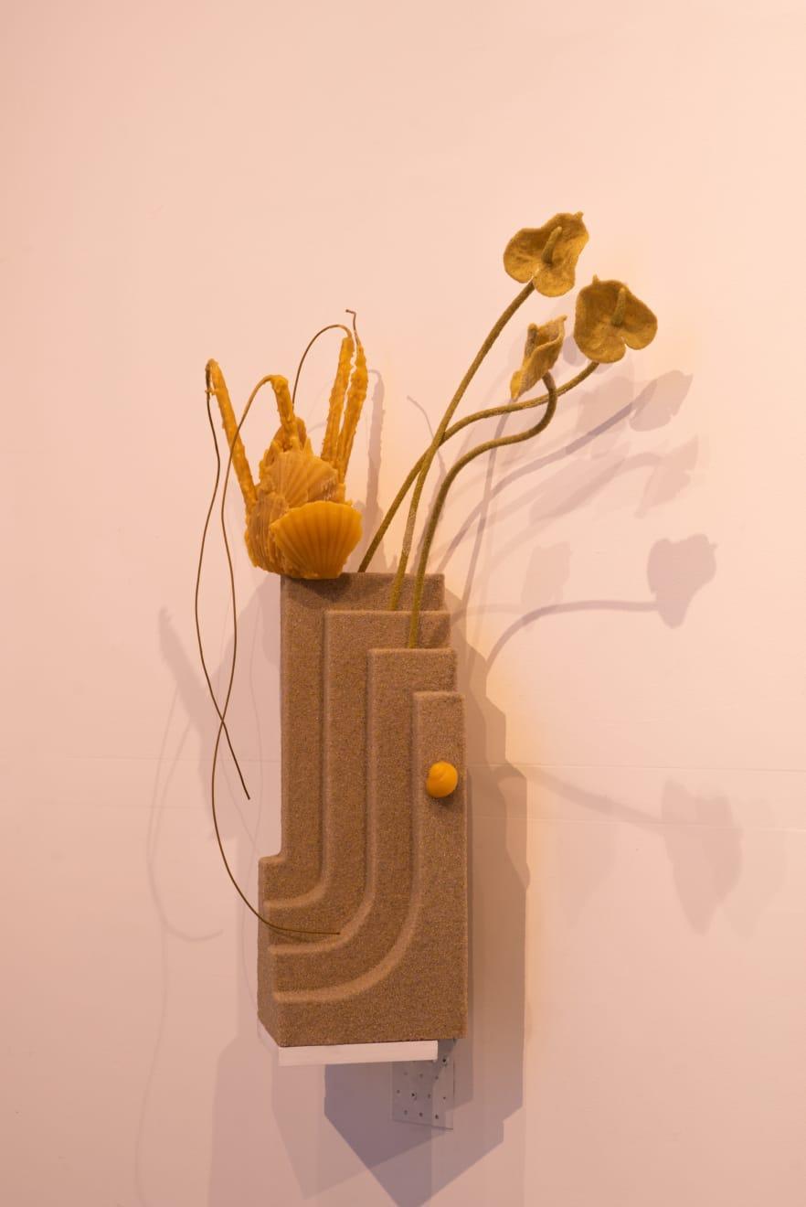 Neringa Vasiliauskaitė, installation view Photographed by Laurynas Skeisgiela