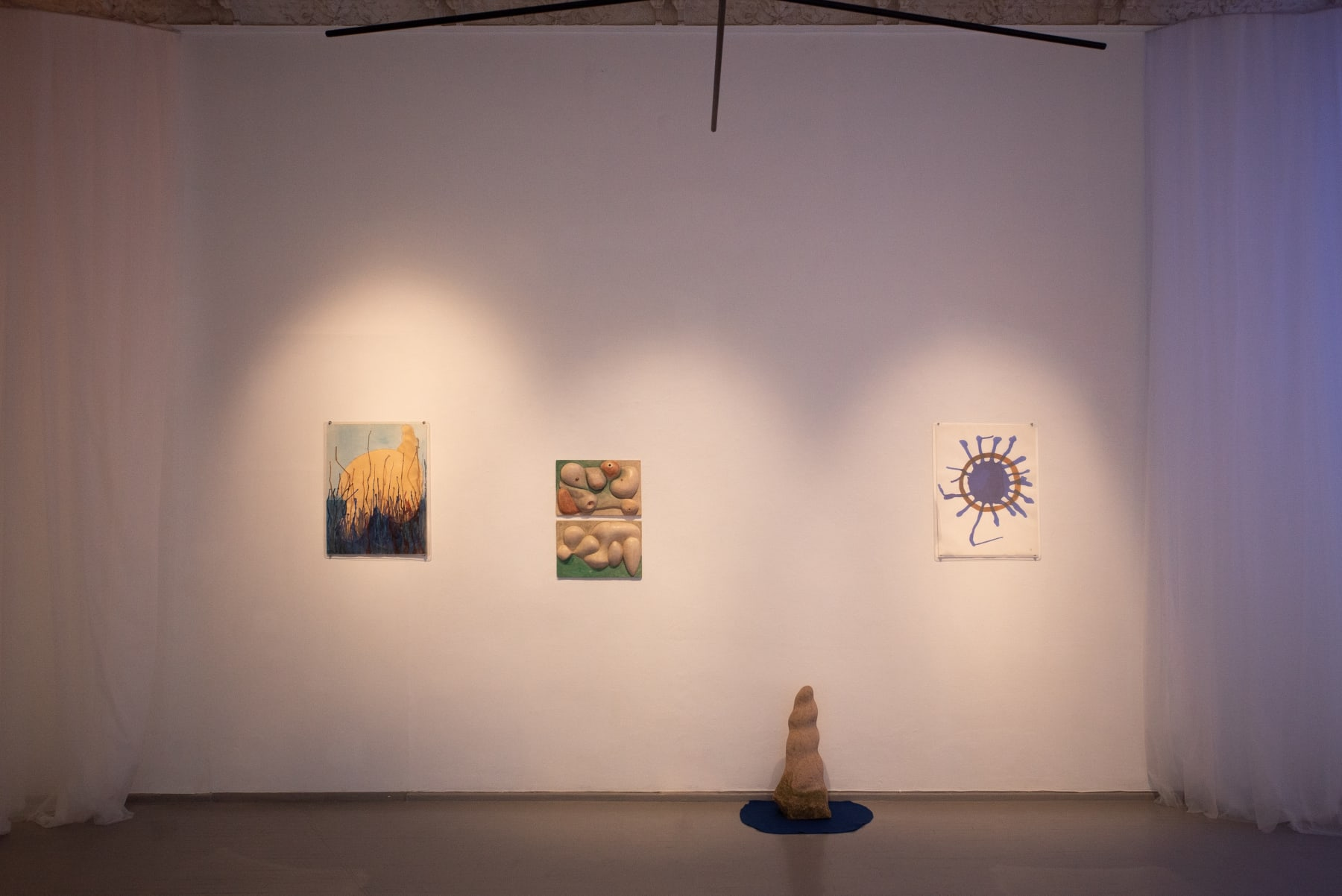 Antanas Mončys, installation view Photographed by Laurynas Skeisgiela