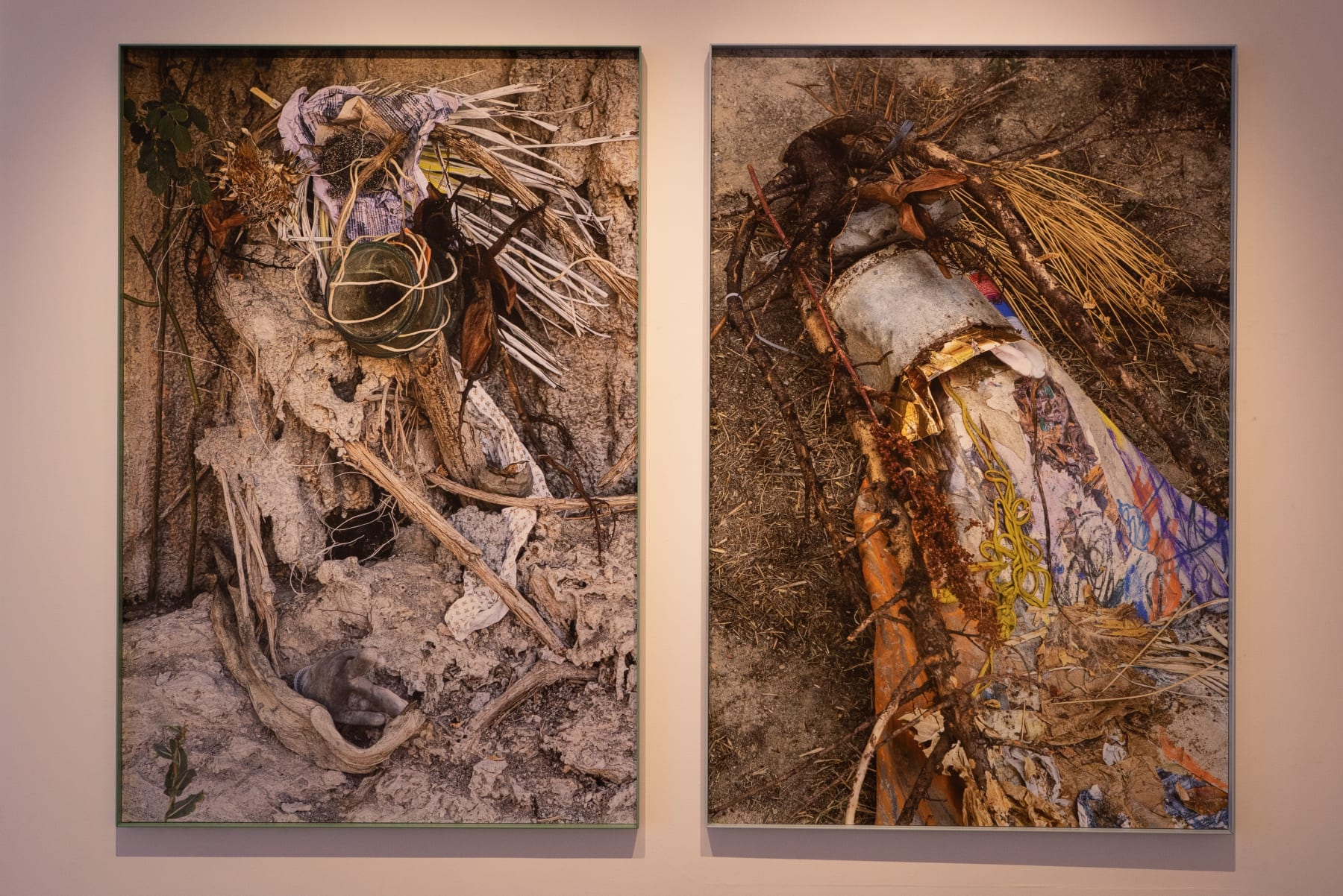 Robertas Narkus, installation view Photographed by Laurynas Skeisgiela