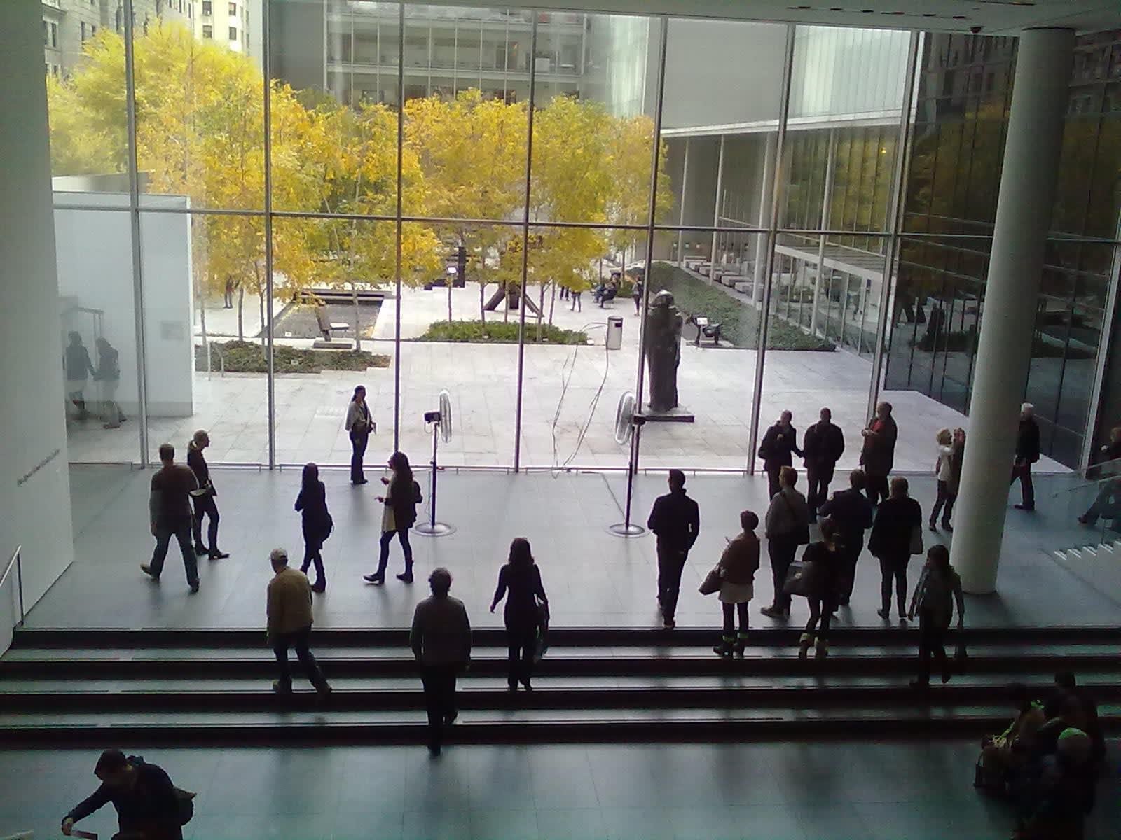 MoMA, New York, 2010 Žilvinas Kempinas