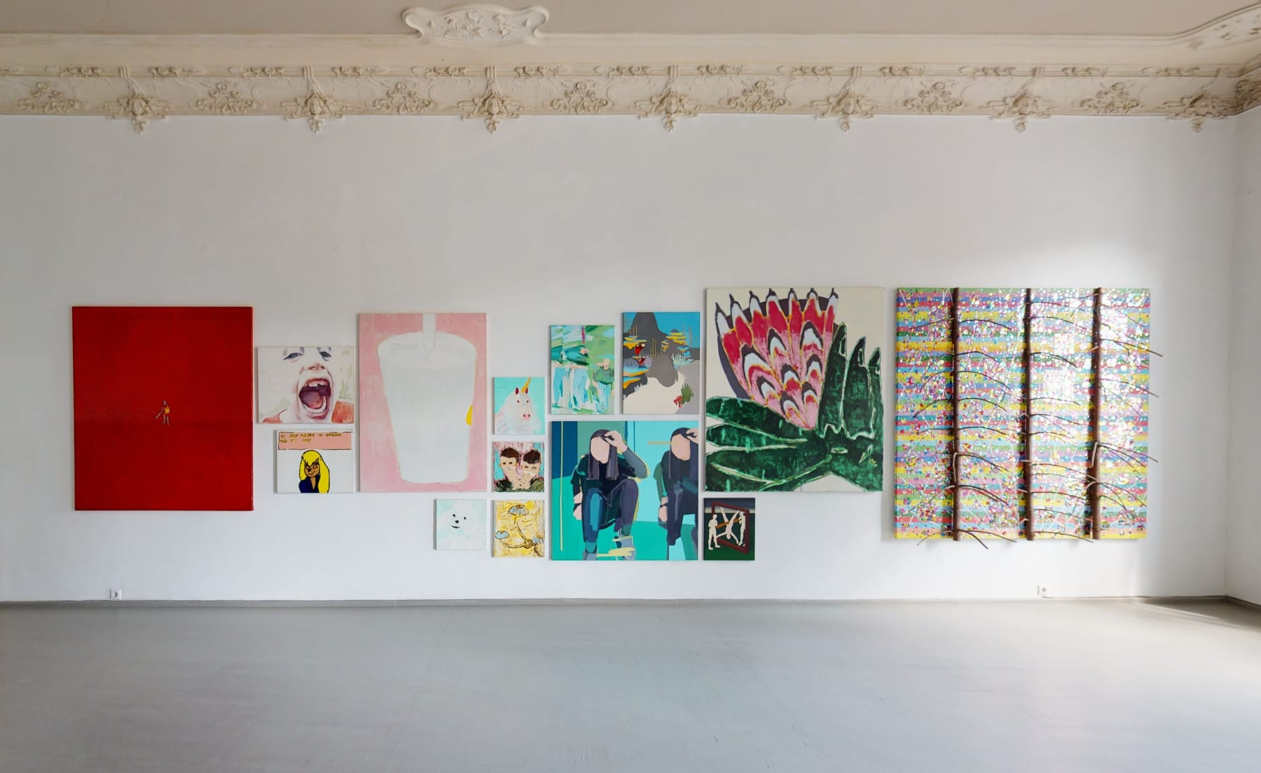 Galerija Vartai, 2020 Installation shot from group exhibition