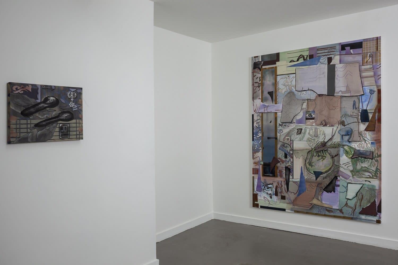 Annet Gellink Gallery, Amsterdam 2020 Installation shot from Gabrielė Adomaitytė's solo exhibition