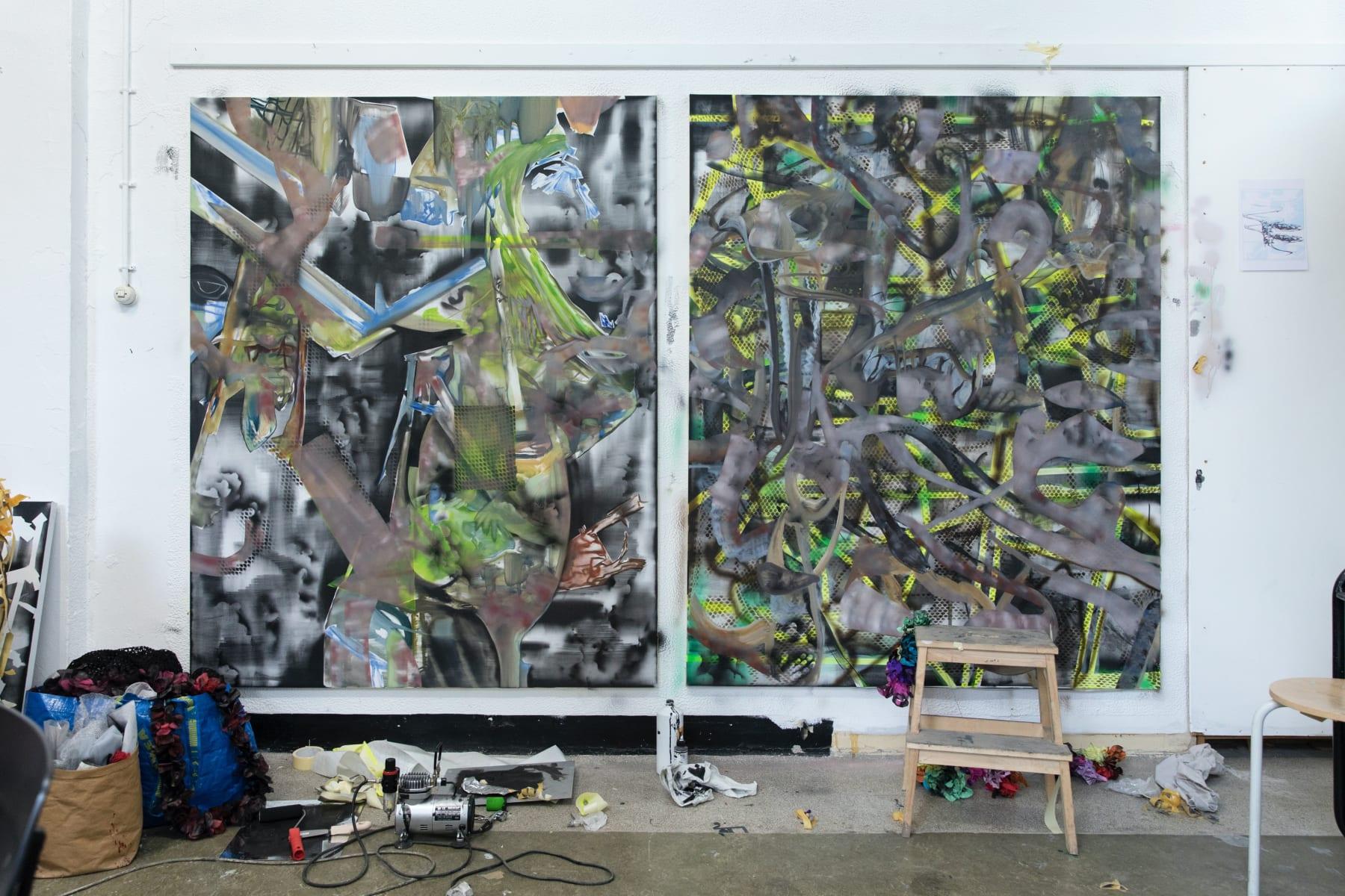 SUNDAY-S GALLERY COPENHAGEN, 2020 Interview on Copenhagen Contemporary. Photo Franz Mueller Schmidt