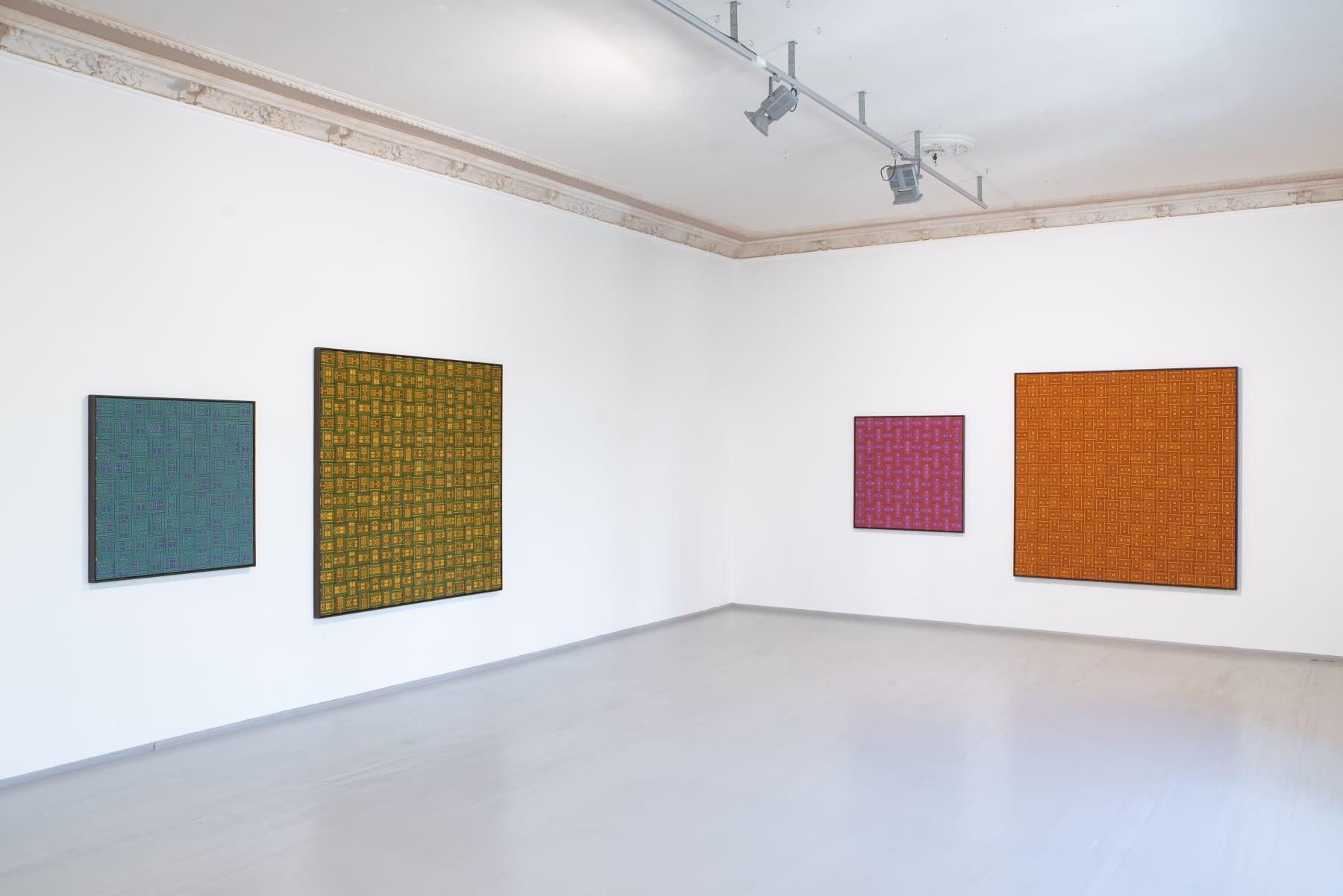 Galerija Vartai, 2019 Installation shot from Indrė Šerpytytė's solo exhibition